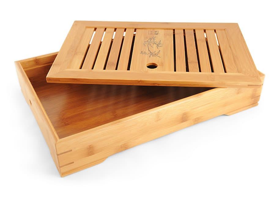 Столик для чайной церемонии из цельного бруса дерева